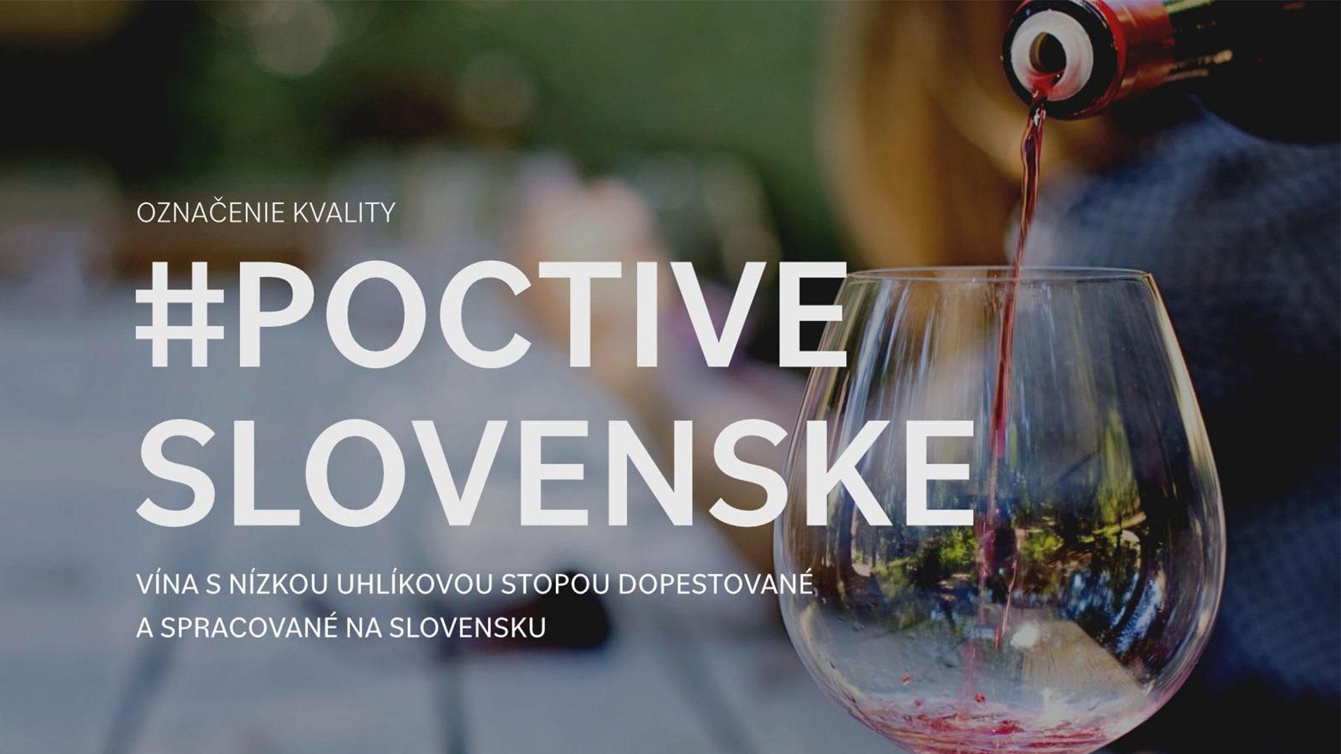VÍNA S NÍZKOU UHLÍKOVOU STOPOU DOPESTOVANÉ A SPRACOVANÉ NA SLOVENSKU